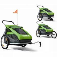 dětské vozíky za kolo