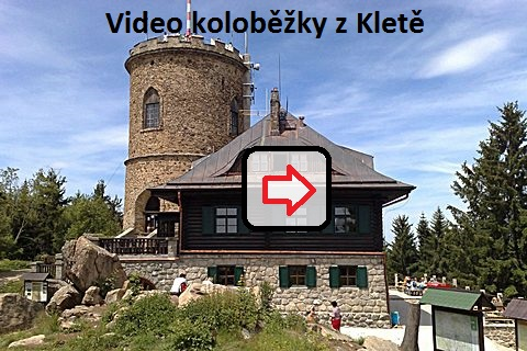 video scooter from Klet mountain