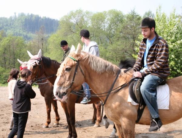 jízda na koni Český Krumlov