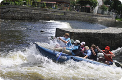 Rafts and boats rental Vltava